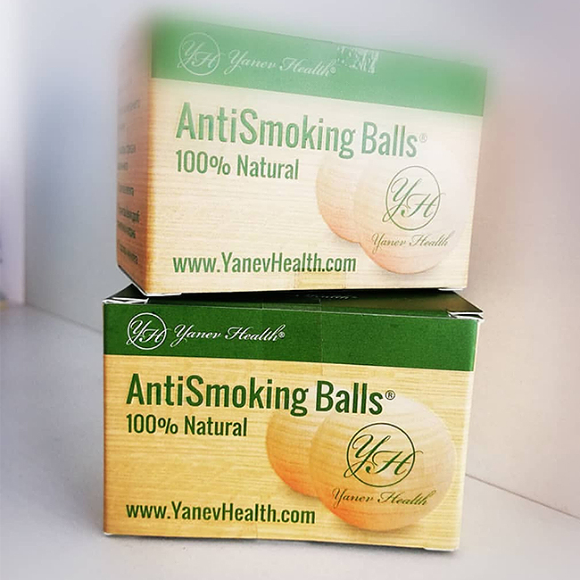 Anti smoking balls