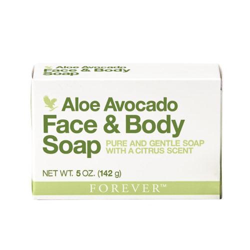 Алое и авокадо сапун за лице и тяло
